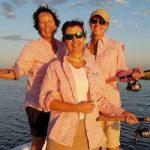 women on inshore fishing charter