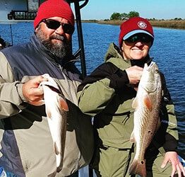 catch trout on louisiana charter