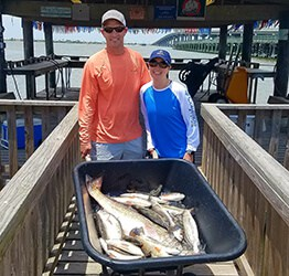 fishing for redfish